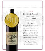 2014 Buried Cane Cabernet Sauvignon - Shelf Talker