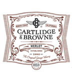 2013 Cartlidge & Browne Merlot, North Coast