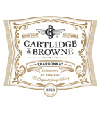 2013 Cartlidge & Browne Chardonnay, North Coast