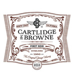 2013 Cartlidge & Browne Pinot Noir, North Coast