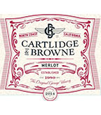 2014 Cartlidge & Browne Merlot, North Coast