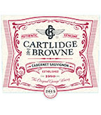 2015 Cartlidge & Browne Cabernet Sauvignon, California