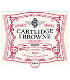 2015 Cartlidge & Browne Merlot, California