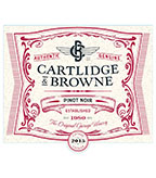 2015 Cartlidge & Browne Pinot Noir, California