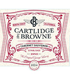 2014 Cartlidge & Browne Cabernet Sauvignon, North Coast
