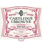2014 Cartlidge & Browne Pinot Noir, North Coast
