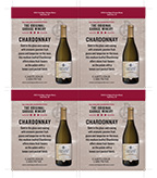 Original Garage Winery Chardonnay Shelf Talker