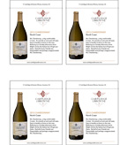 2013 Cartlidge & Browne Chardonnay - New Shelf Talker