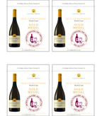 2012 Cartlidge & Browne Chardonnay - Gold Medal