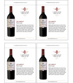 2013 Cartlidge & Browne Merlot - Sell Sheet