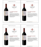 2013 Cartlidge & Browne Cabernet Sauvignon - Shelf Talkers
