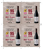 2014 Pinot Noir Shelf Talker - 95pts 4 up
