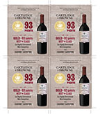 2015 Cabernet Sauvignon Shelf Talker - 93pts 4 up