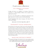 2011 Cartlidge & Browne Cabernet Sauvignon, North Coast