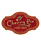 Cherry Pie Pinot Noir Logo - Red