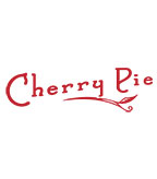 Cherry Pie Logo - Red