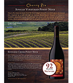 Cherry Pie Rodgers Creek Pinot Noir Sell Sheet