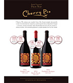 Cherry Pie Wines Accolade Sheet 2014 Vintages