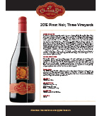 2015 Cherry Pie Three Vineyards Pinot Noir