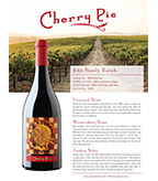 2014 Cherry Pie Stanly Ranch Pinot Noir