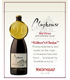 2013 Clayhouse Petite Sirah - Shelf Talker