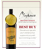 2014 Clayhouse Cabernet Sauvignon - Shelf Talker