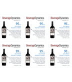 2013 Clos Pegase Merlot Shelf Talker - Beverage Dynamics