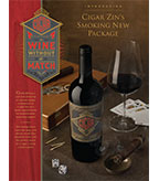 2015 Cigar Zin Sell Sheet