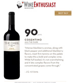 2013 Cosentino THE Dark - Wine Enthusiast