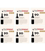 2013 Cosentino THE Dark - Wine Enthusiast - 6up
