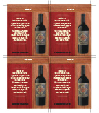 2018 Cigar Zin - Shelf Talker