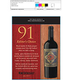 Cigar Zin - 91 pts Shelf Talker