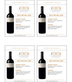 2012 Cosentino The Zin - Shelf Talker