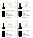 2014 Cosentino The Dark - Shelf Talker