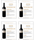 2014 Cosentino The Franc - Shelf Talker