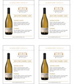 2015 Cosentino THE Chard - Shelf Talker