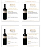 2014 Cosentino THE Zin - Shelf Talker