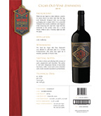 2016 Cigar Zin California Old Vine Zinfandel