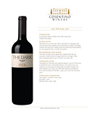 2016 Cosentino The Dark, Lodi