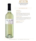 2016 Cosentino The Blanc, Lodi