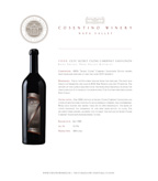 2006 Cosentino Cabernet Secret Clone, Napa Valley