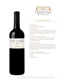 2013 Cosentino The Dark, Lodi