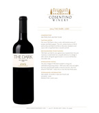 2014 Cosentino The Dark, Lodi
