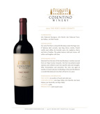 2013 Cosentino The Poet, Napa County