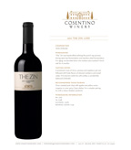 2011 Cosentino The Zin, Lodi