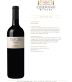 2014 Cosentino The Zin, Lodi