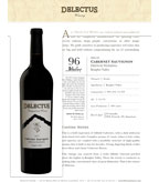 2013 Delectus Cabernet Sauvignon, French Wedding, Knights Valley