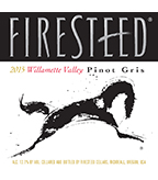 2015 Firesteed Pinot Gris, Willamette Valley