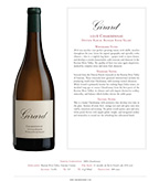 2016 Girard Chardonnay, Dutton Ranch, Russian River Valley