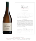 2016 Girard Chardonnay, Russian River Valley
